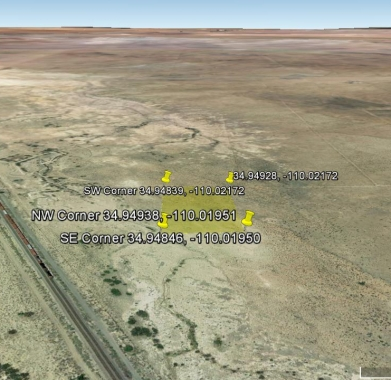 Google Earth looking west