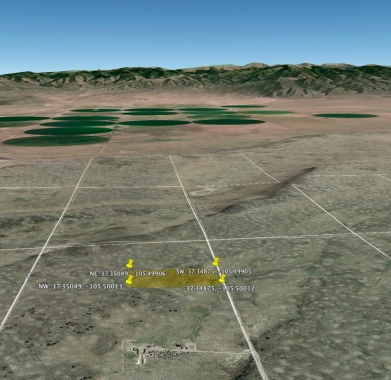 Google Earth - Looking East